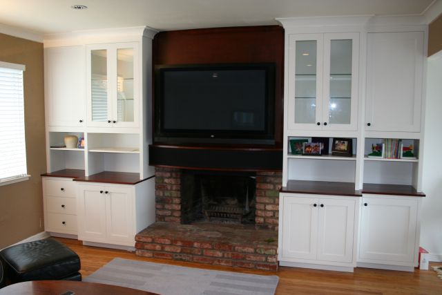 LCD/Plasma TV over Fireplace